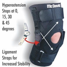 McDavid Deluxe Thermal Hinged Knee Support