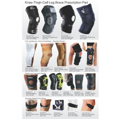 REFERRAL PAD - KNEE/LEG/CALF/THIGH