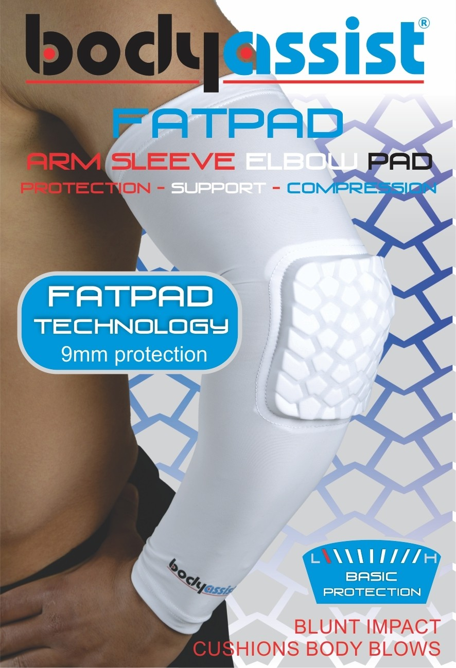 FatPad Arm Elbow Padded Sleeve (Single)