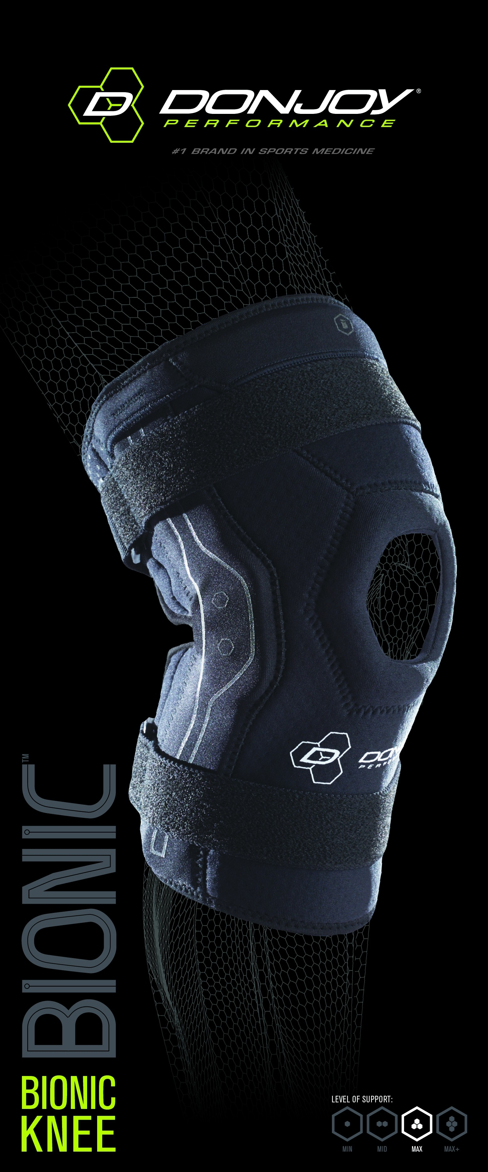 DonJoy Performance Bionic Hinged Knee Brace