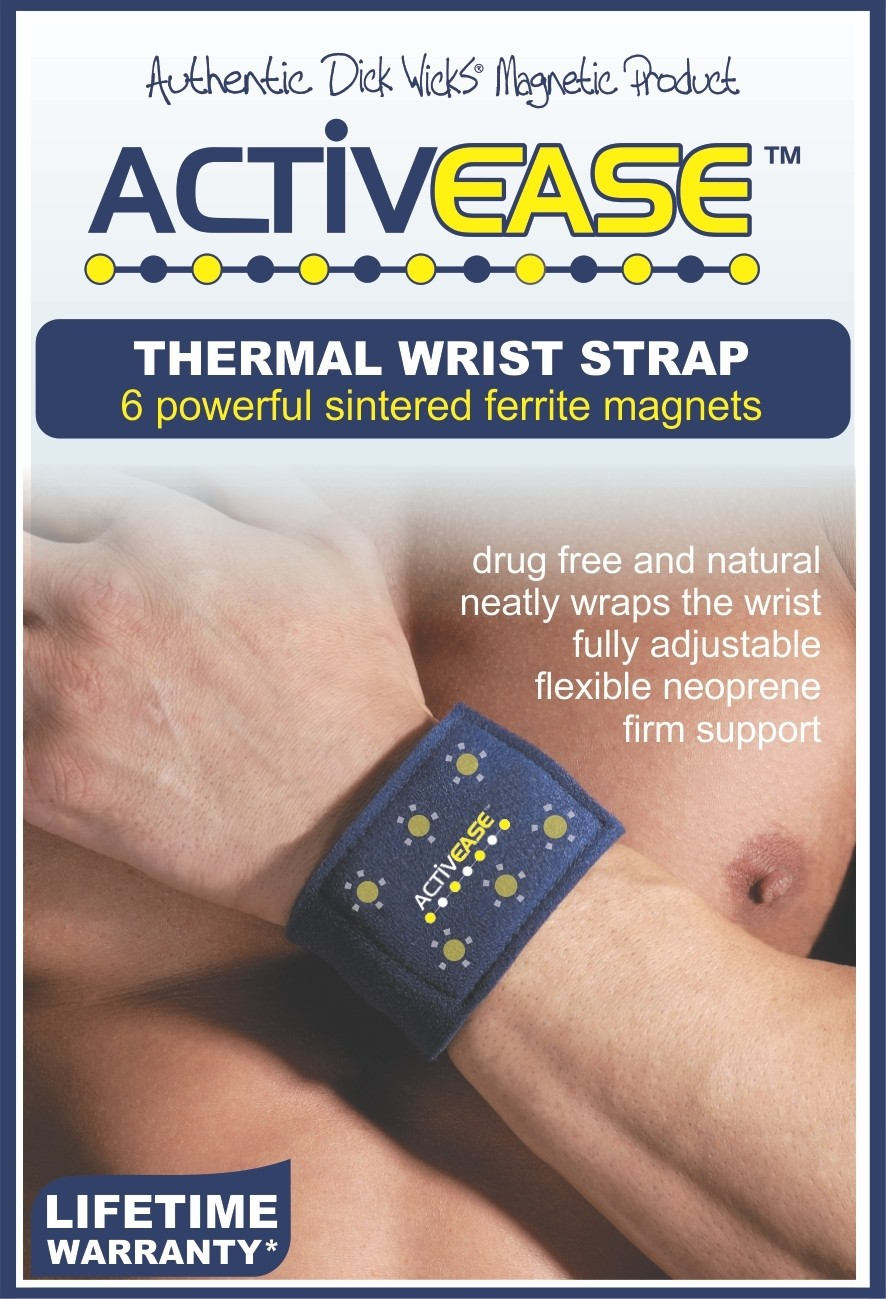 Activease Thermal Wrist Support with Magnets by Dick Wicks