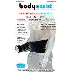 BA Power Pull Sacral Back Belt