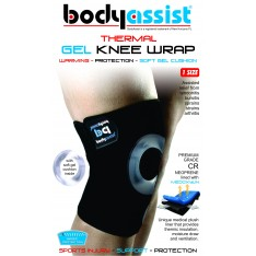 BA Thermal Knee Wrap with Gel Buttress