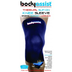 BA Thermal Slip-on Knee Sleeve Black (Closed Patella)