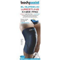 BA El-Supremo Wrestling Knee Pad Black