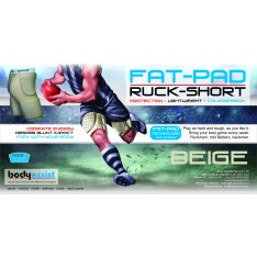 FATPAD Padded Ruck Short Beige