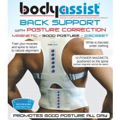 Lower Back Support with Posture Correction