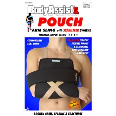 Pouch Arm Sling with Stabilization Swathe
