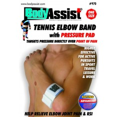 One Size Tennis Elbow Band with Pressure Pad