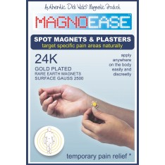 Magnoease 10 Spot Magnet Pack & replacement Plasters