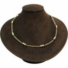 Dick Wicks Magnetic Chain Necklace Classic Ball 50cm