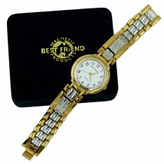 Best Friend Magnetic Watch Mens 12 magnets Gold