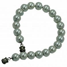 Dick Wicks Magnetic Classic White Pearl Magnetic Bracelet - No Stretch
