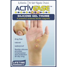 Activease Silicone Gel Thumb/Wrist Brace with Magnets