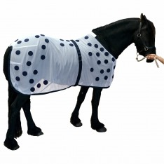 EQUINE MAGNETIC RECOVERY MESH PONCHO