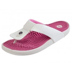 Kenkoh Kutsurogi Massage Health Sandals (Pink)