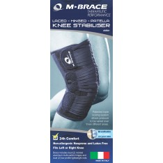 M-Brace Laced Hinged Patella Stabiliser Knee