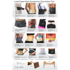 REFERRAL PAD - LOWER BACK